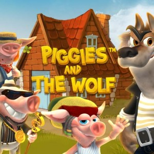 Piggies and the wolf by tartan
