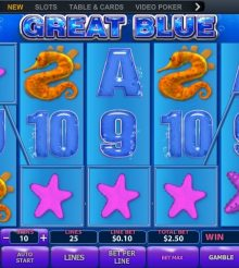 Great Blue Slot Review