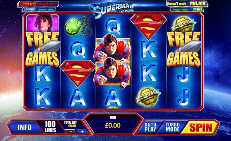 Superman the movie slot review sunset casino buffet prices