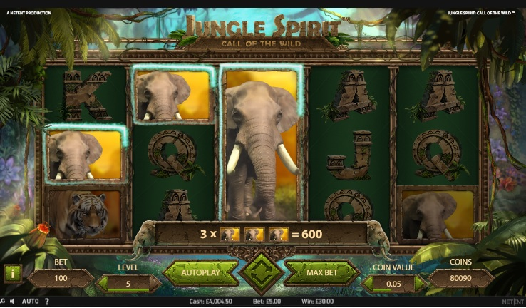 Jungle Spirit Call of the Wild Slot Machine Online ᐈ NetEnt™ Casino Slots