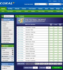 Will You Be A Football Jackpot Winner This Weekend At Coral Sport?