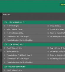 What Betting is Available on Esports at bet365 Sport?